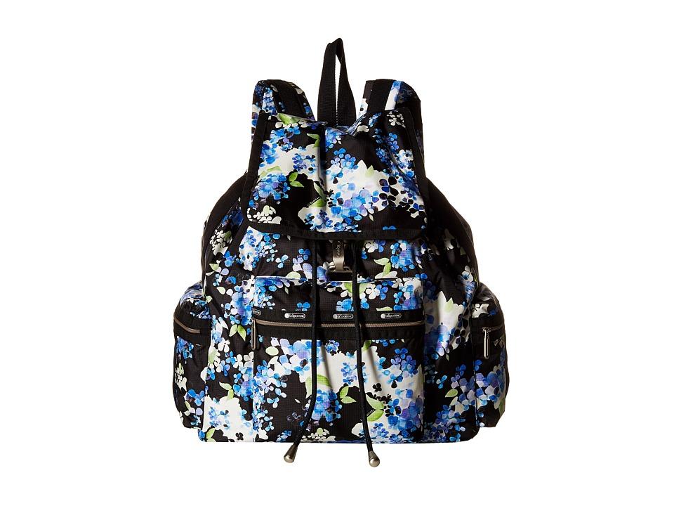 LeSportsac - 3-Zip Voyager (Flower Cluster) Handbags