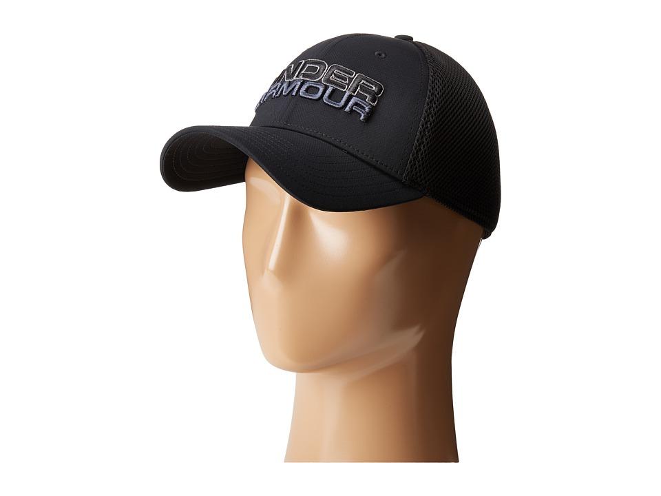 Under Armour - UA Cap (Black/Graphite/Stealth Gray) Caps