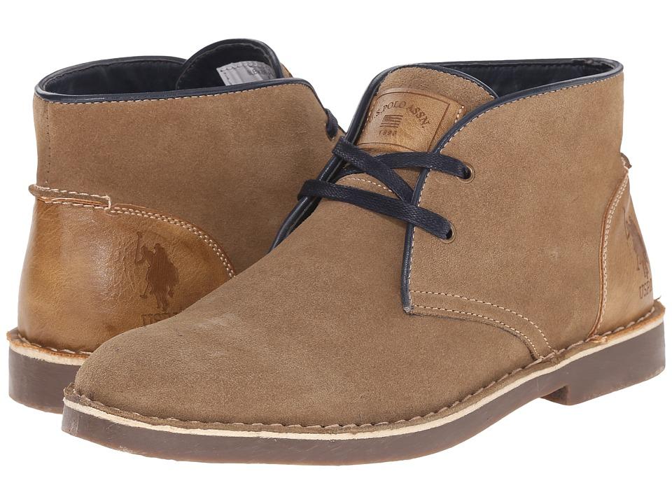 U.S. POLO ASSN. - Bleeker (Sand) Men's Shoes
