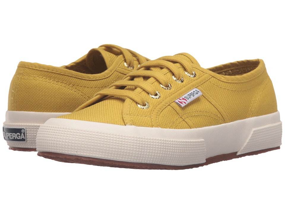 Superga - 2750 COTU Classic (Mustard) Lace up casual Shoes