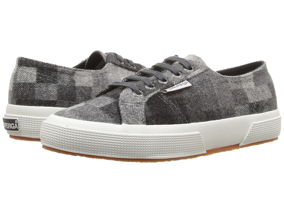 Superga - 2750 Polywoolfanw (Black Multi) Women's Lace up casual Shoes
