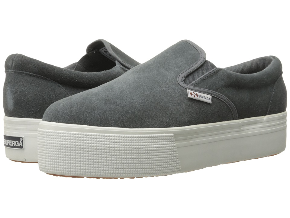 Superga 2314 Suew (Grey Stone) Women