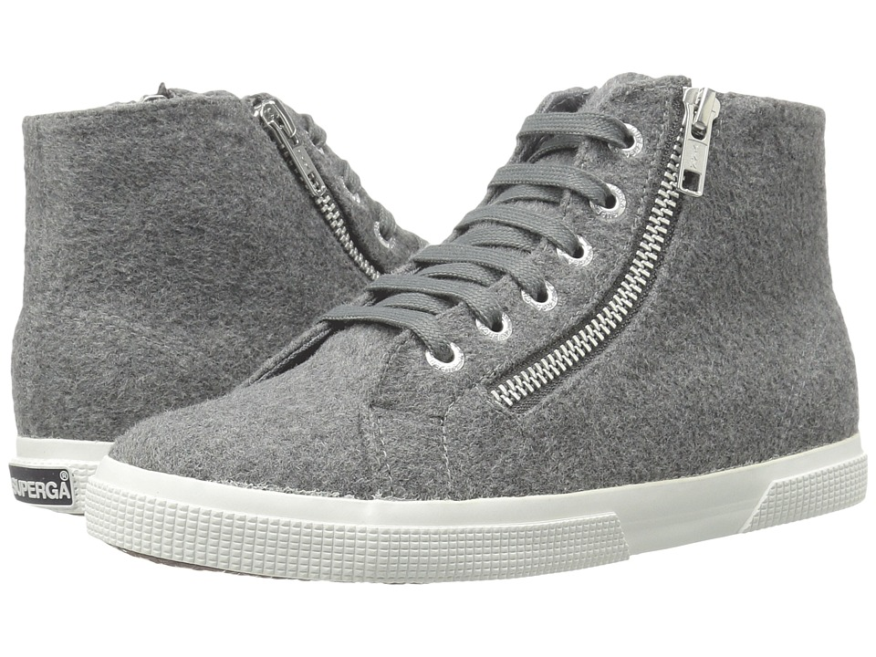 Superga - 2224 Polywoolw (Grey Pearl) Women's Lace up casual Shoes