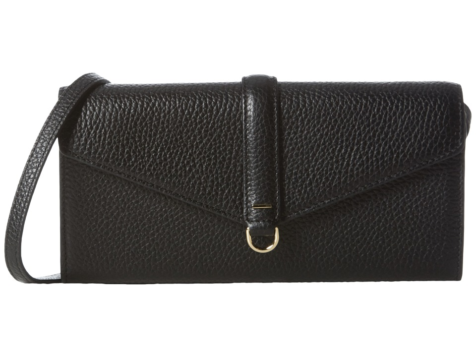 ECCO - Isan Clutch Wallet (Black) Wallet Handbags