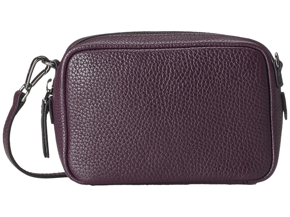 ECCO - Isan Pouch w/ Strap (Mauve) Travel Pouch
