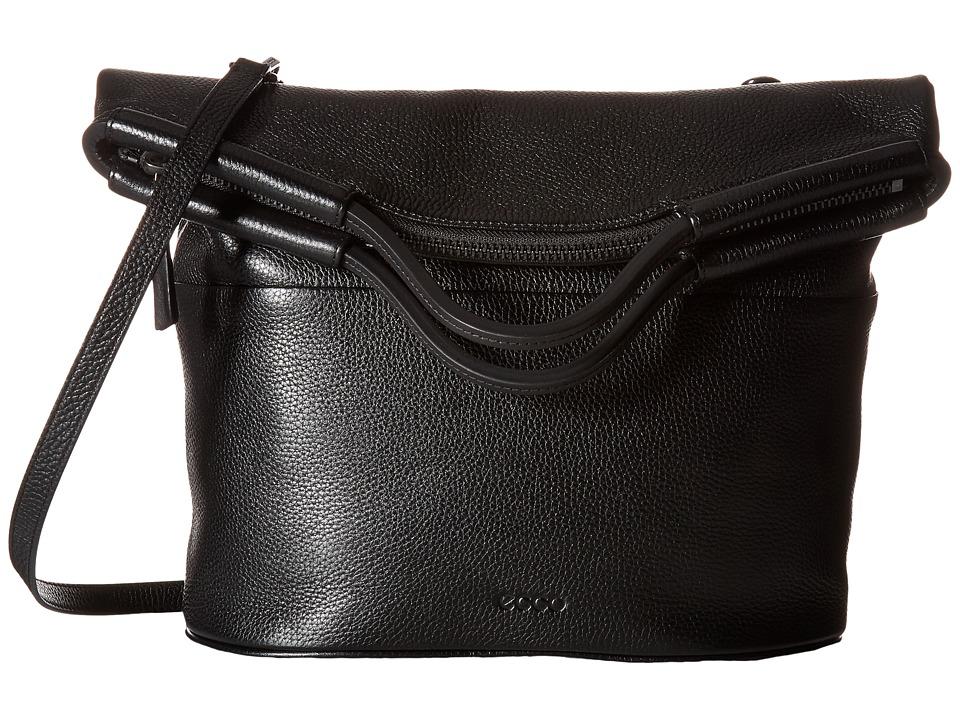 ECCO - SP 2 Folding Tote (Black) Tote Handbags