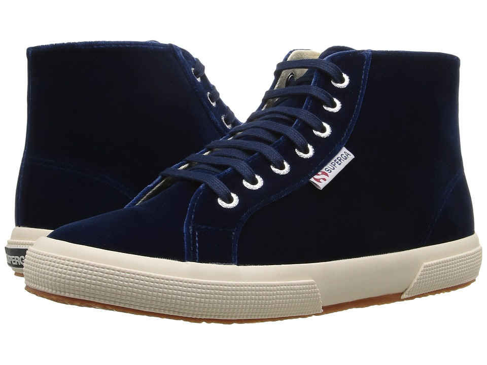 Superga 2095 Velvetw (Blue) Women