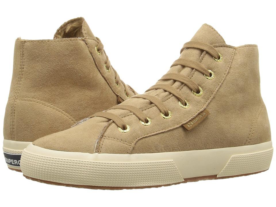 Superga - 2795 Syntsherlingw (Beige) Women's Shoes