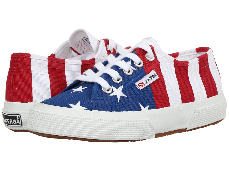 Superga 2750 Cotu Flag USA (USA) Lace up casual Shoes