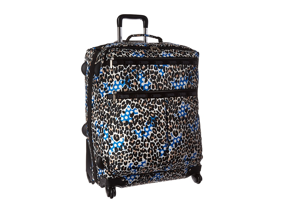LeSportsac Luggage - 18 Inch 4 Wheel Luggage (Animal Dots) Pullman Luggage