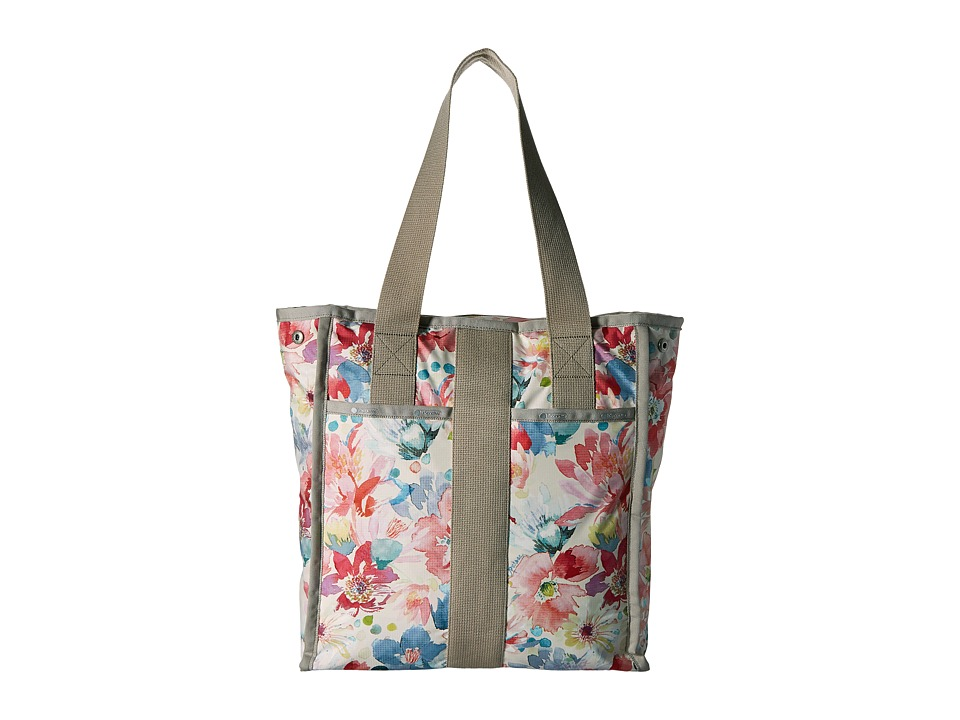 LeSportsac Luggage - City Tote (Waterlily Garden) Tote Handbags