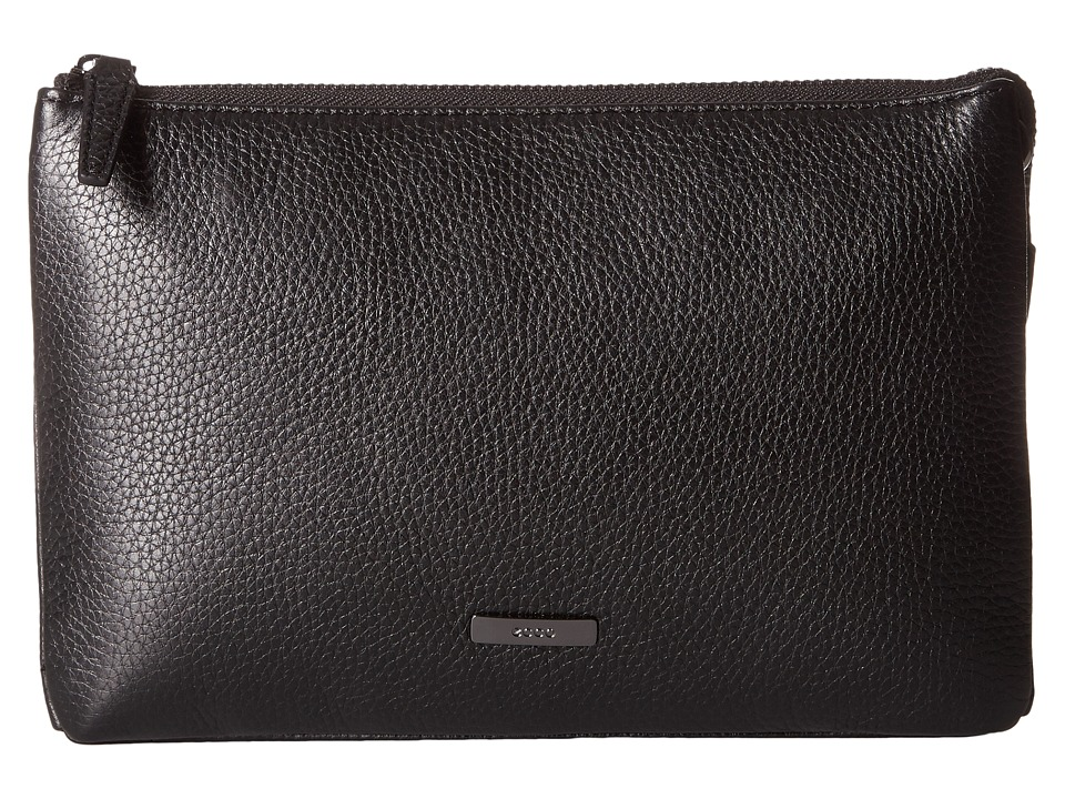 ECCO - Iba Clutch (Black) Clutch Handbags