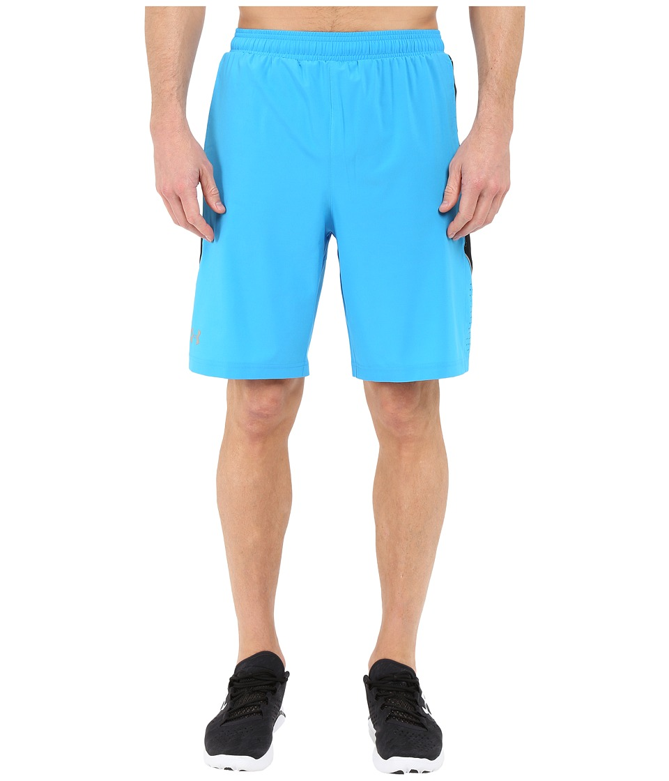 Under Armour - UA Launch 9'' Stretch Woven Shorts (Electric Blue) Men's Shorts