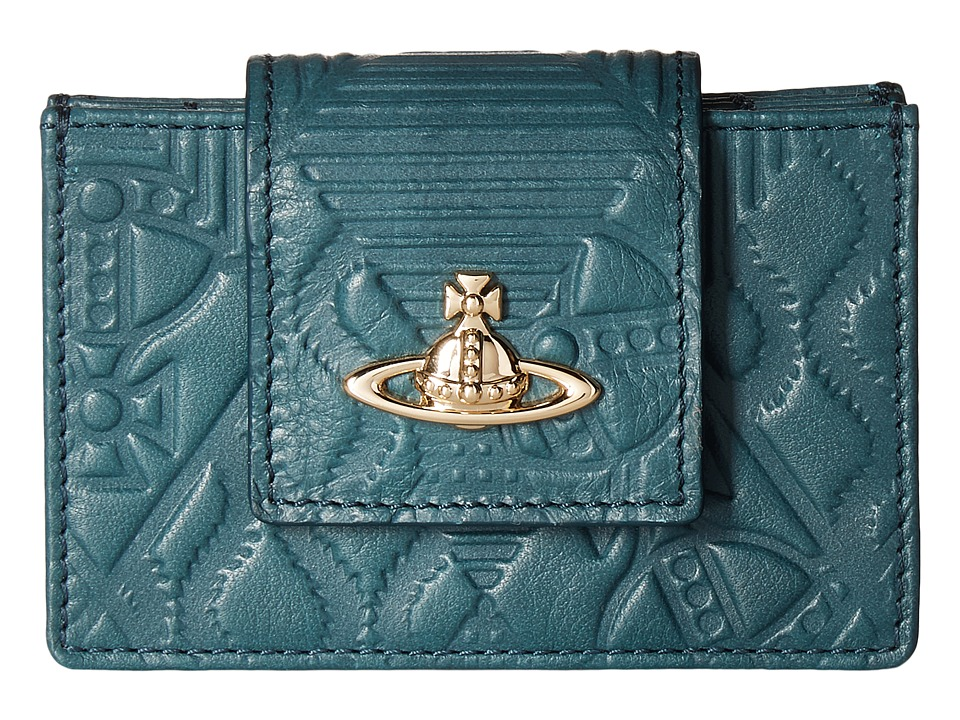 Vivienne Westwood - Hogarth Wallet (Green) Wallet Handbags