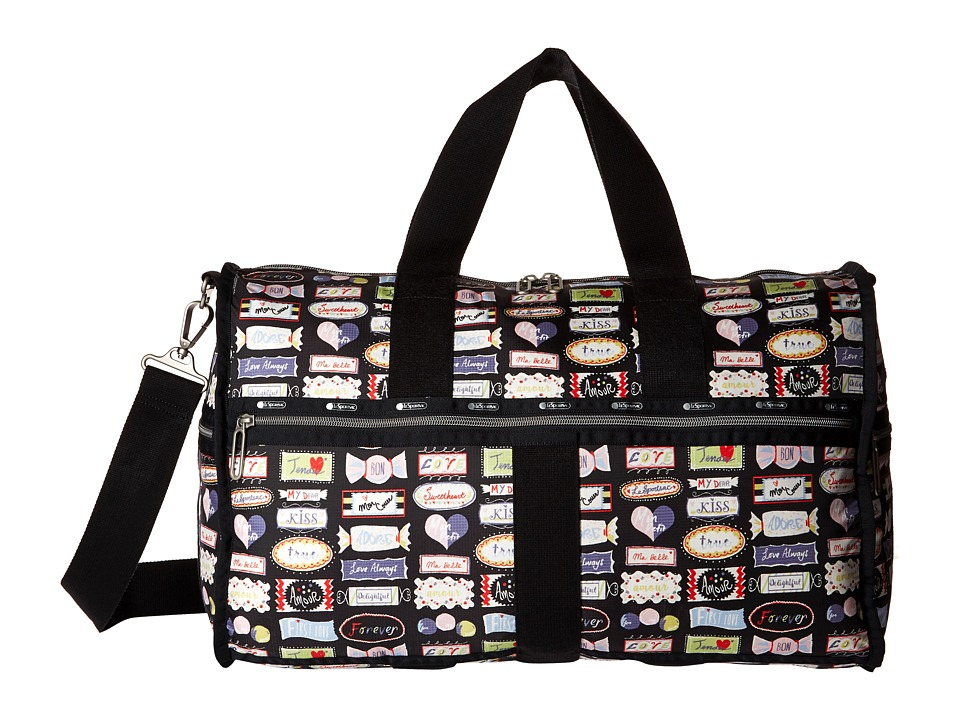 LeSportsac Luggage - CR Large Weekender (Sweet Talk) Weekender/Overnight Luggage