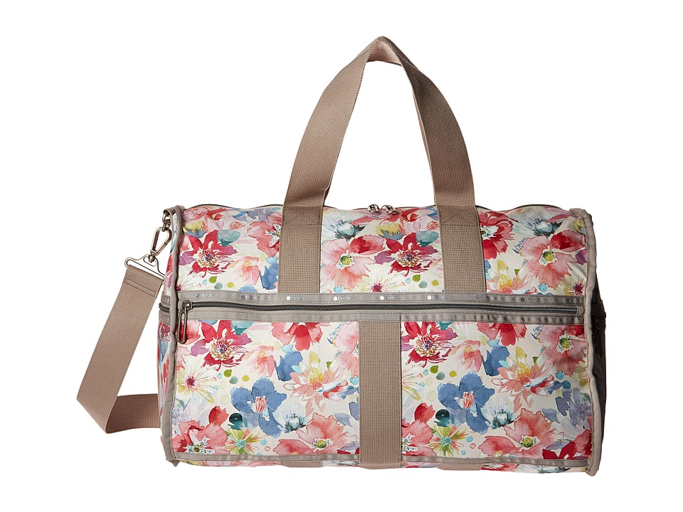 LeSportsac Luggage - CR Large Weekender (Waterlily Garden) Weekender/Overnight Luggage