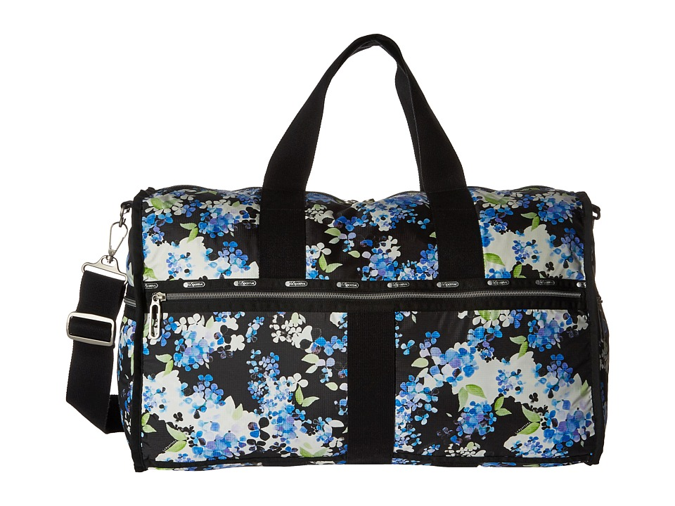 LeSportsac Luggage - CR Large Weekender (Flower Cluster) Weekender/Overnight Luggage