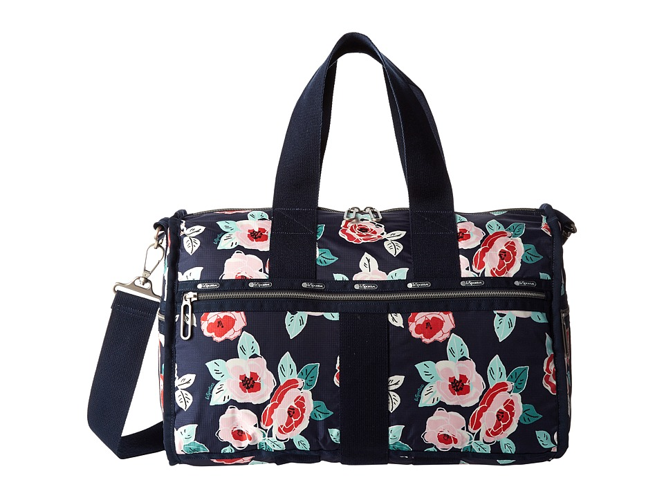 LeSportsac Luggage - Weekender (Navy Rose) Weekender/Overnight Luggage