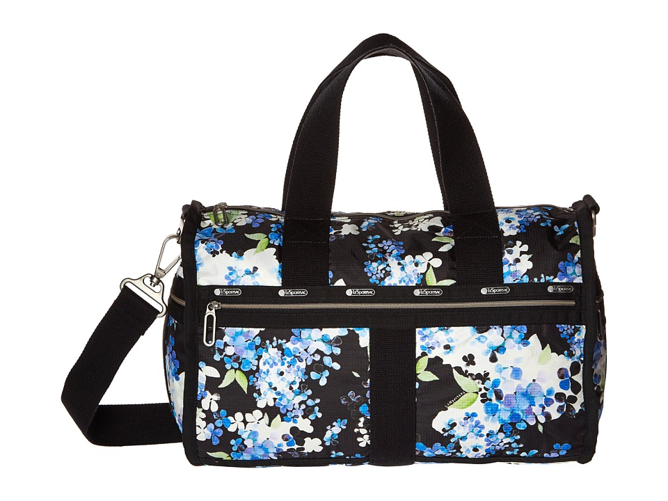 LeSportsac Luggage - CR Small Weekender (Flower Cluster) Weekender/Overnight Luggage