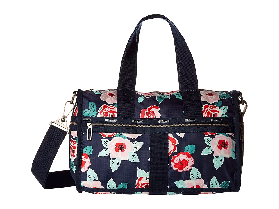 LeSportsac Luggage - CR Small Weekender (Navy Rose) Weekender/Overnight Luggage