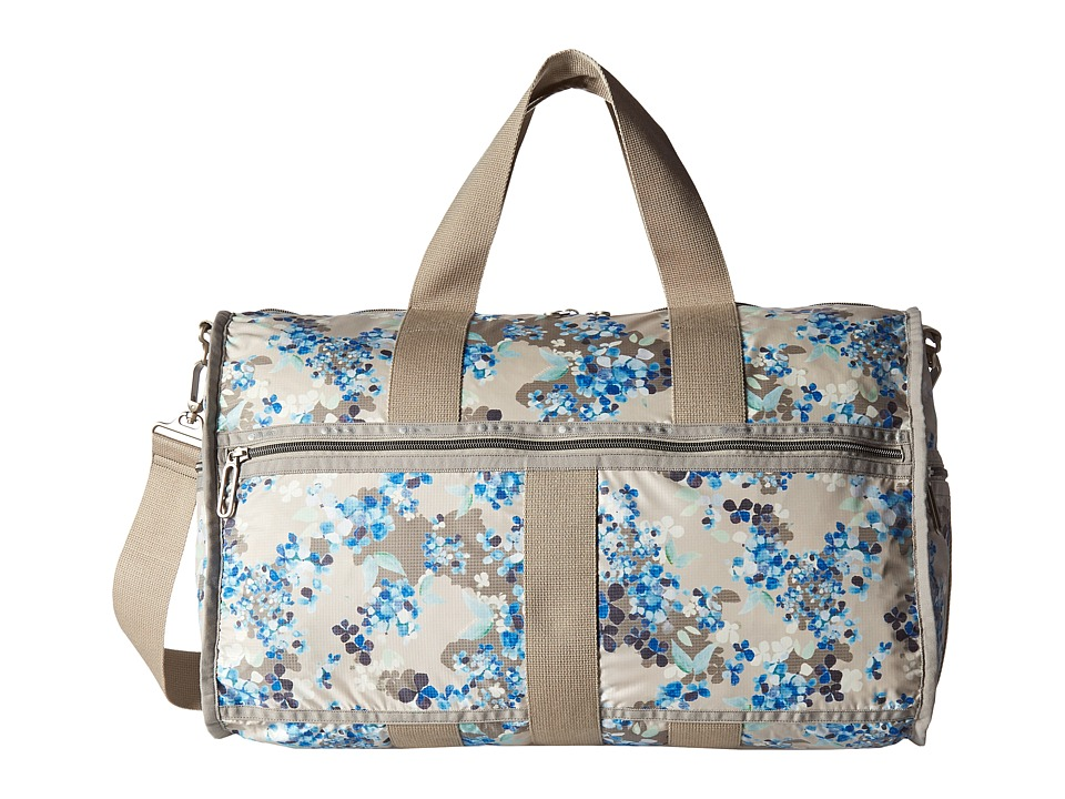 LeSportsac Luggage - CR Large Weekender (Flower Cluster Khaki) Weekender/Overnight Luggage