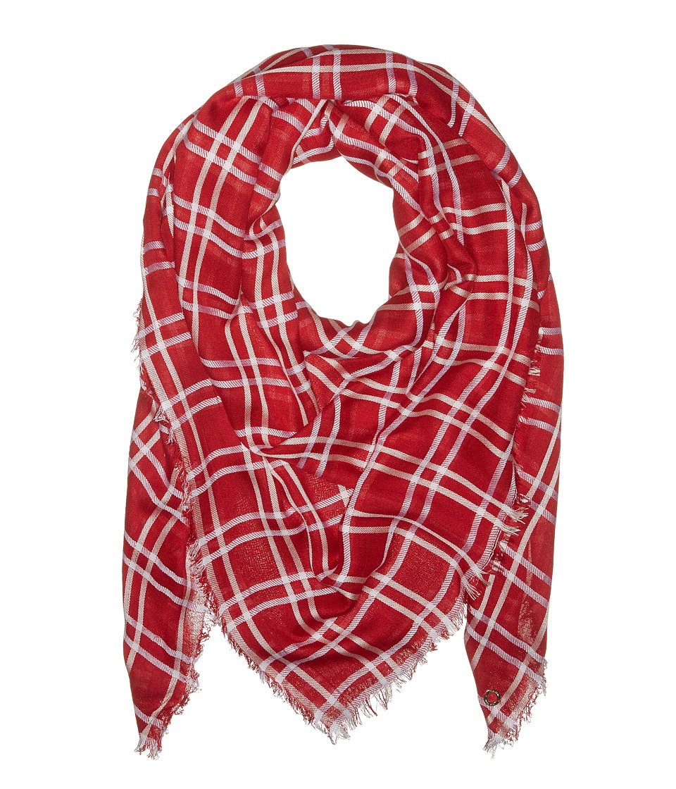 Calvin Klein - Square Blanket (Red) Scarves