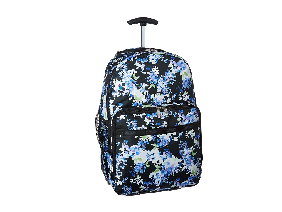 LeSportsac Luggage - Rolling Backpack (Flower Cluster) Backpack Bags