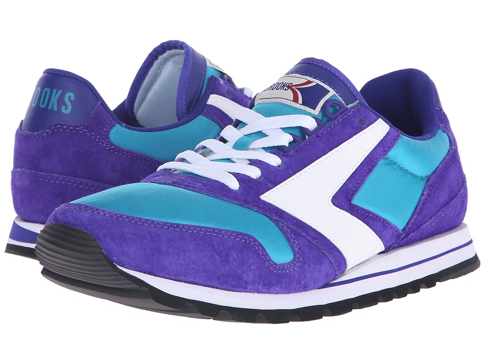 Brooks Heritage - Chariot (Turquoise/Purple/White) Men's Shoes