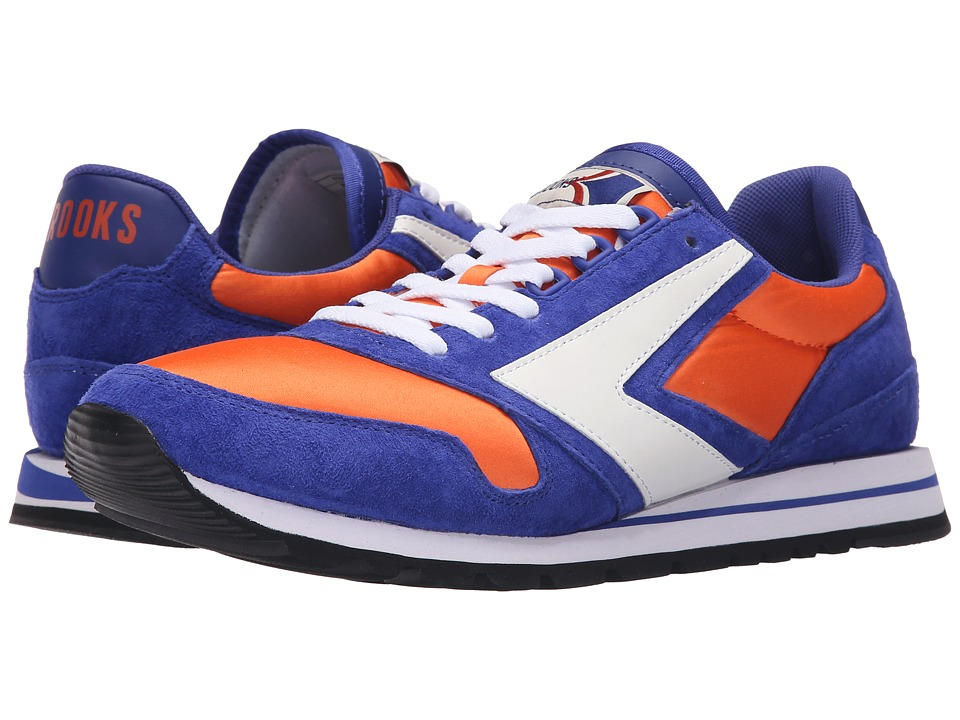 Brooks Heritage - Chariot (Royal Blue/Bright Orange/White) Men's Shoes