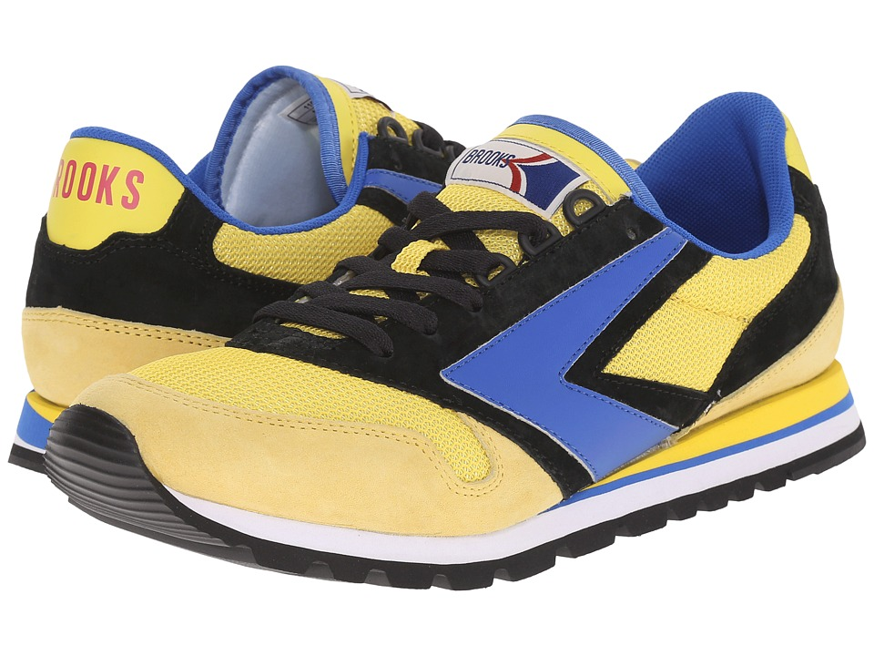 Brooks Heritage - Chariot (Lemon/Turkish Sea/Black) Men's Shoes