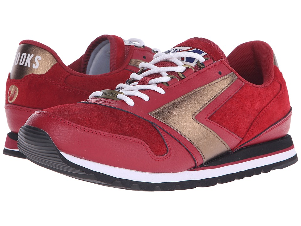 Brooks Heritage - Chariot (Coffee House/Red Bean) Men's Shoes
