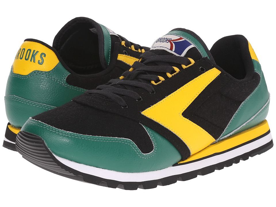 Brooks Heritage - Chariot (Lemon Chrome/Verdant Green/Black) Men's Shoes