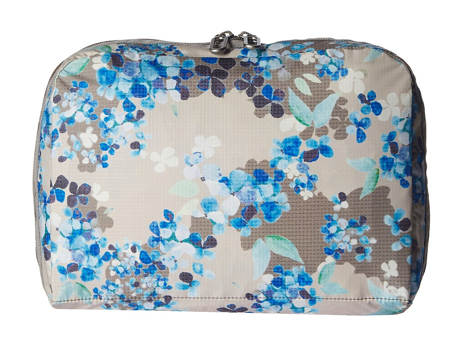 LeSportsac Luggage - XL Essential Cosmetic (Flower Cluster Khaki) Cosmetic Case