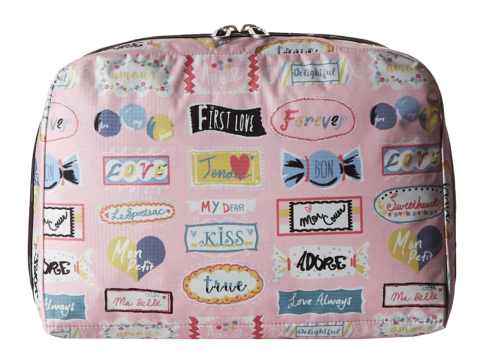 LeSportsac Luggage - XL Essential Cosmetic (Sweet Talk Pink) Cosmetic Case