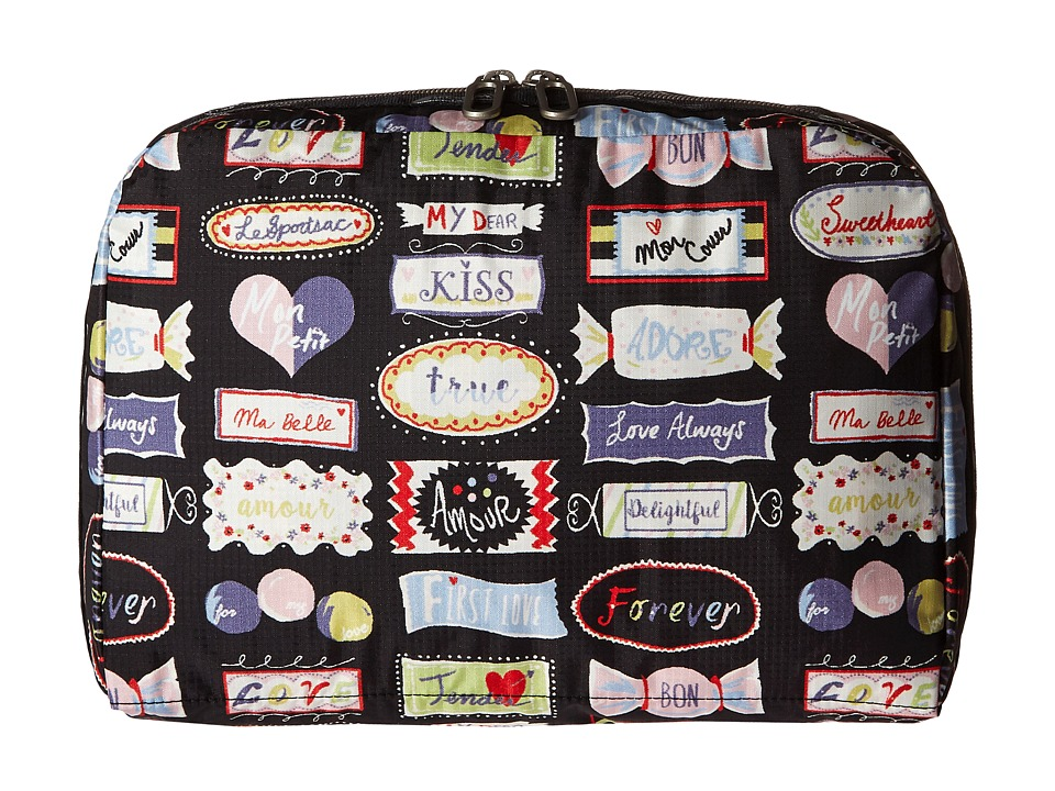 LeSportsac Luggage - XL Essential Cosmetic (Sweet Talk) Cosmetic Case