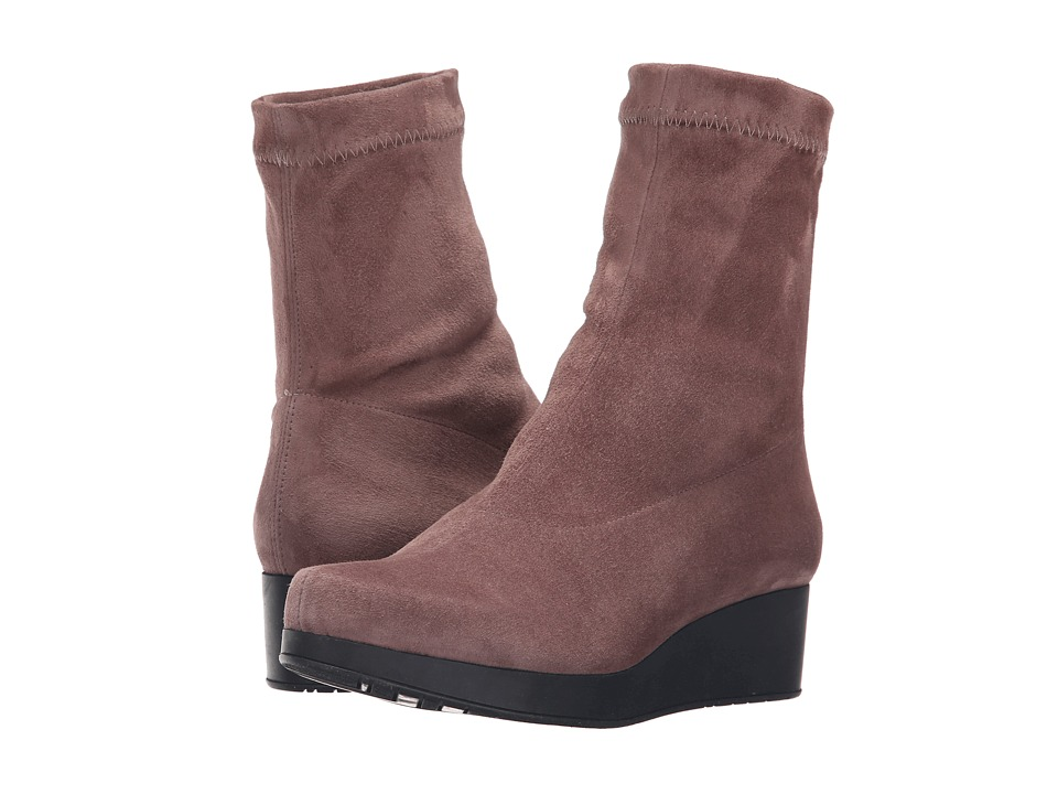 Robert Clergerie - Nerdall (Sandalwood Suede) Women's Pull-on Boots