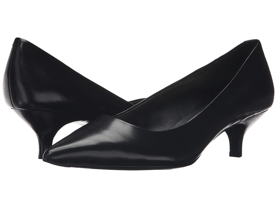 LAUREN Ralph Lauren - Abbot (Black Kidskin) Women's Shoes