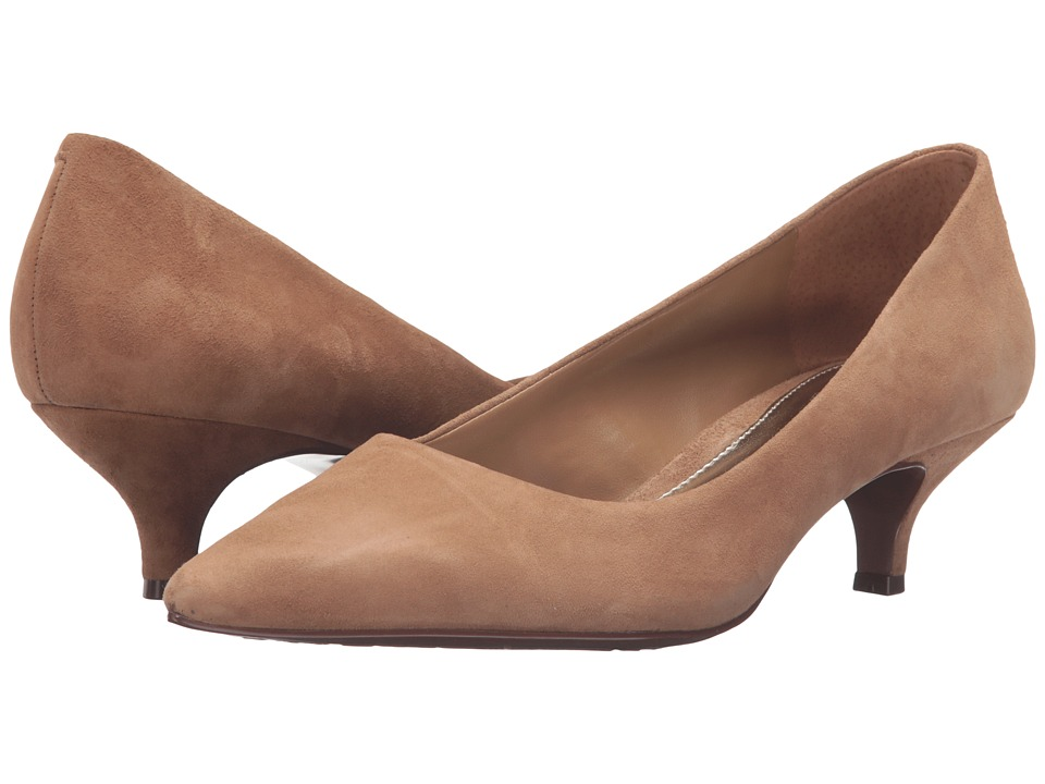 LAUREN Ralph Lauren - Abbot (Camel Kid Suede) Women's Shoes