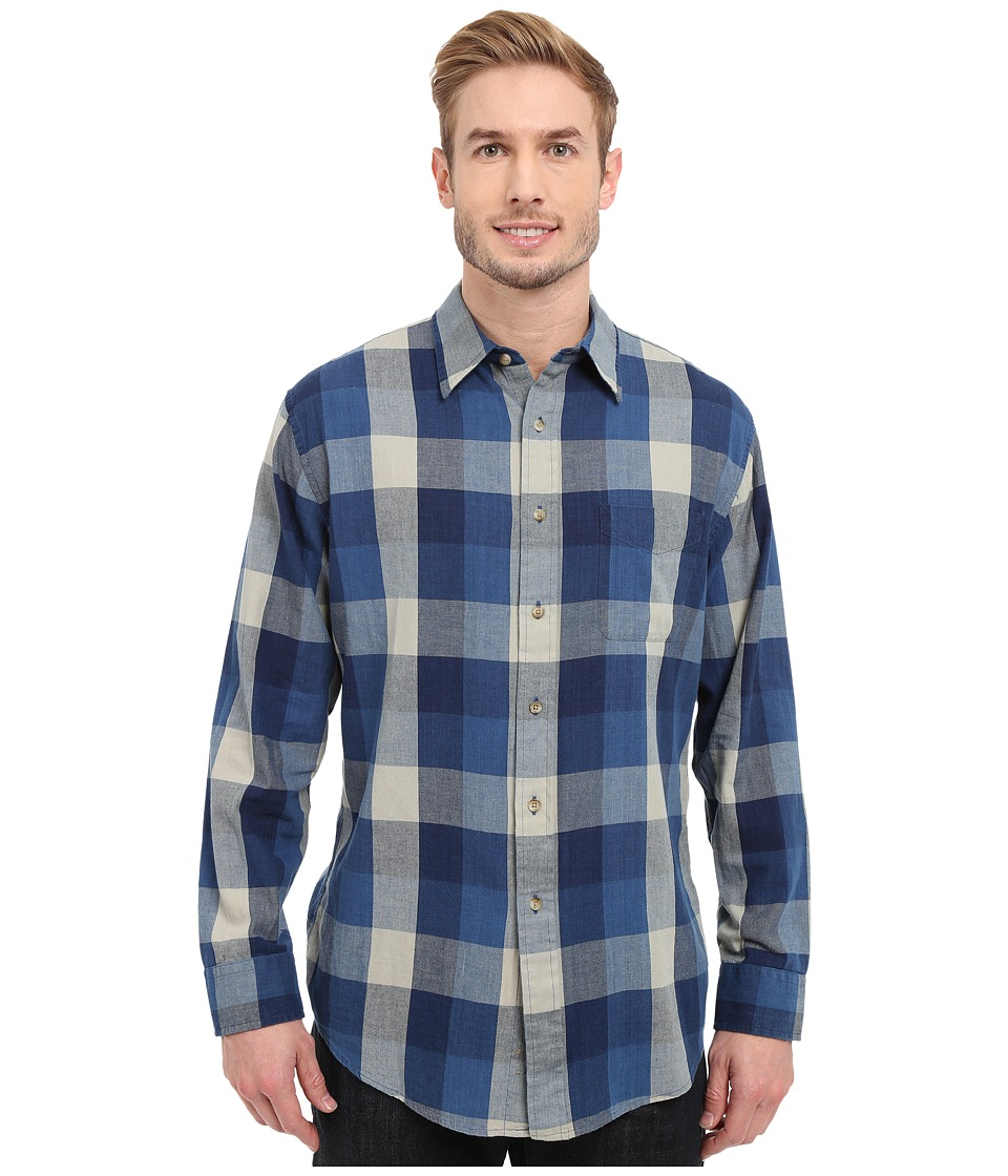 Pendleton - Tennyson Shirt (Indigo) Men's Long Sleeve Button Up