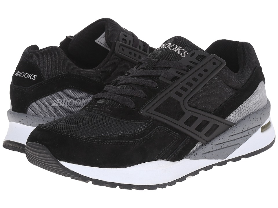 Brooks Heritage Regent (Black/Castlerock/White) Men