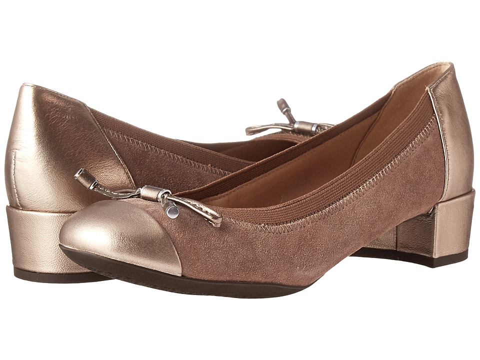 Geox - WCAREY22 (Old Rose/Champagne) Women's Shoes