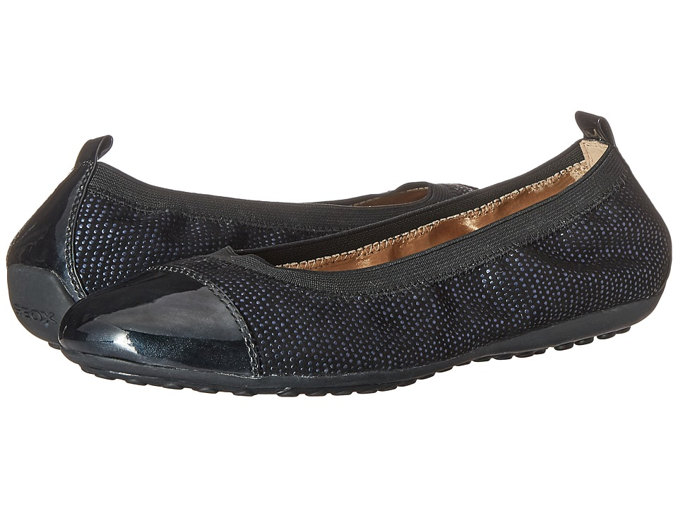 Geox WPIUMABALLER44 (Black/Navy) Women