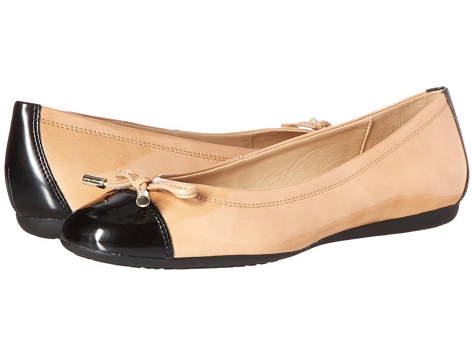 Geox - WLOLA105 (Camel/Black) Women's Shoes