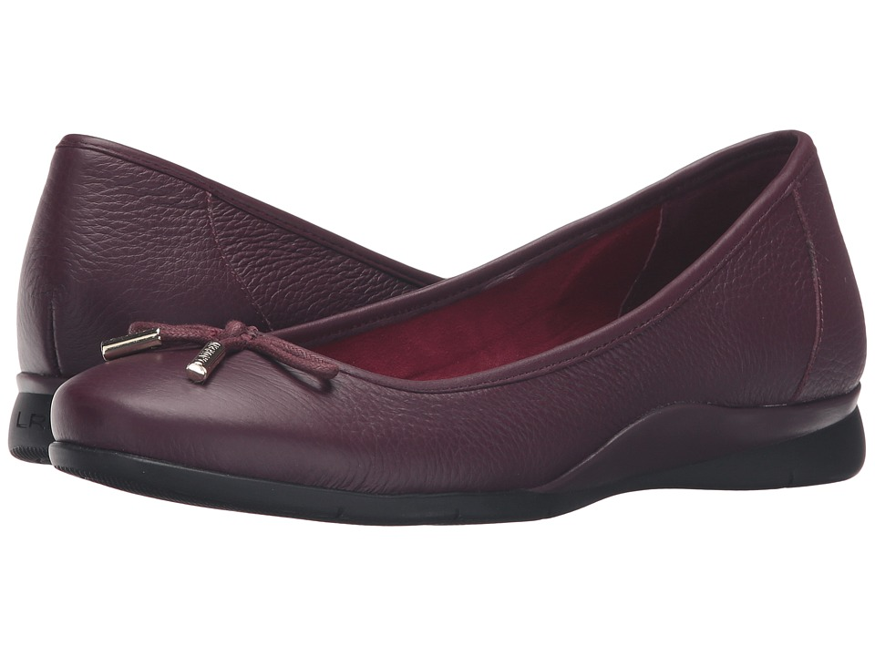 LAUREN Ralph Lauren - Nia II (Claret Sport Grain) Women's Shoes