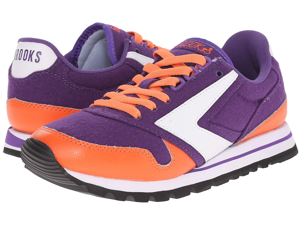 Brooks Heritage Chariot (Orange/Royal Purple/White) Women