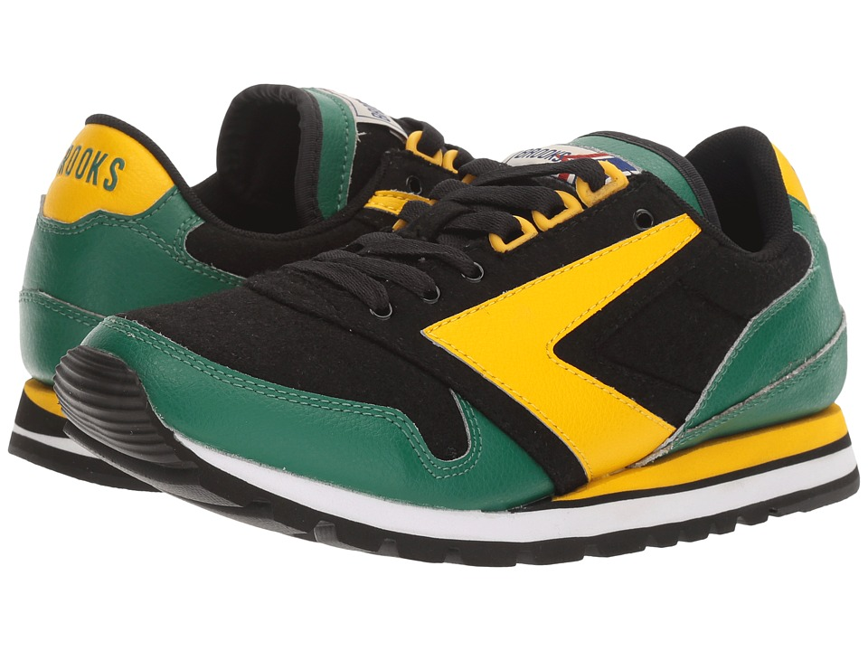 Brooks Heritage - Chariot (Lemon Chrome/Verdant Green/Black) Women's Shoes