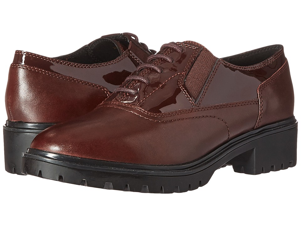 Geox - WPEACEFUL7 (Dark Burgundy) Women's Shoes
