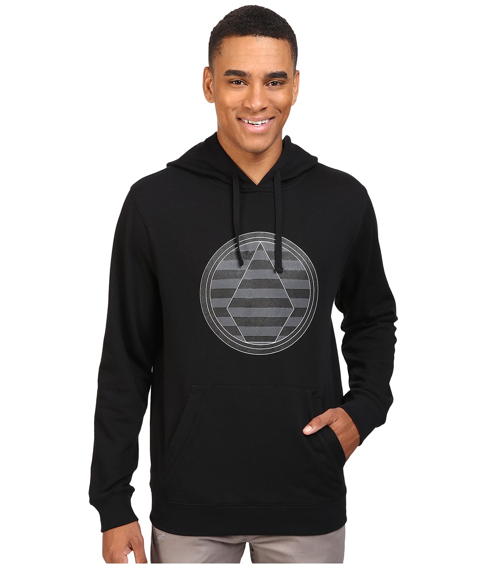 Volcom Snow - Striped Stone Fleece (Black) Men's Fleece