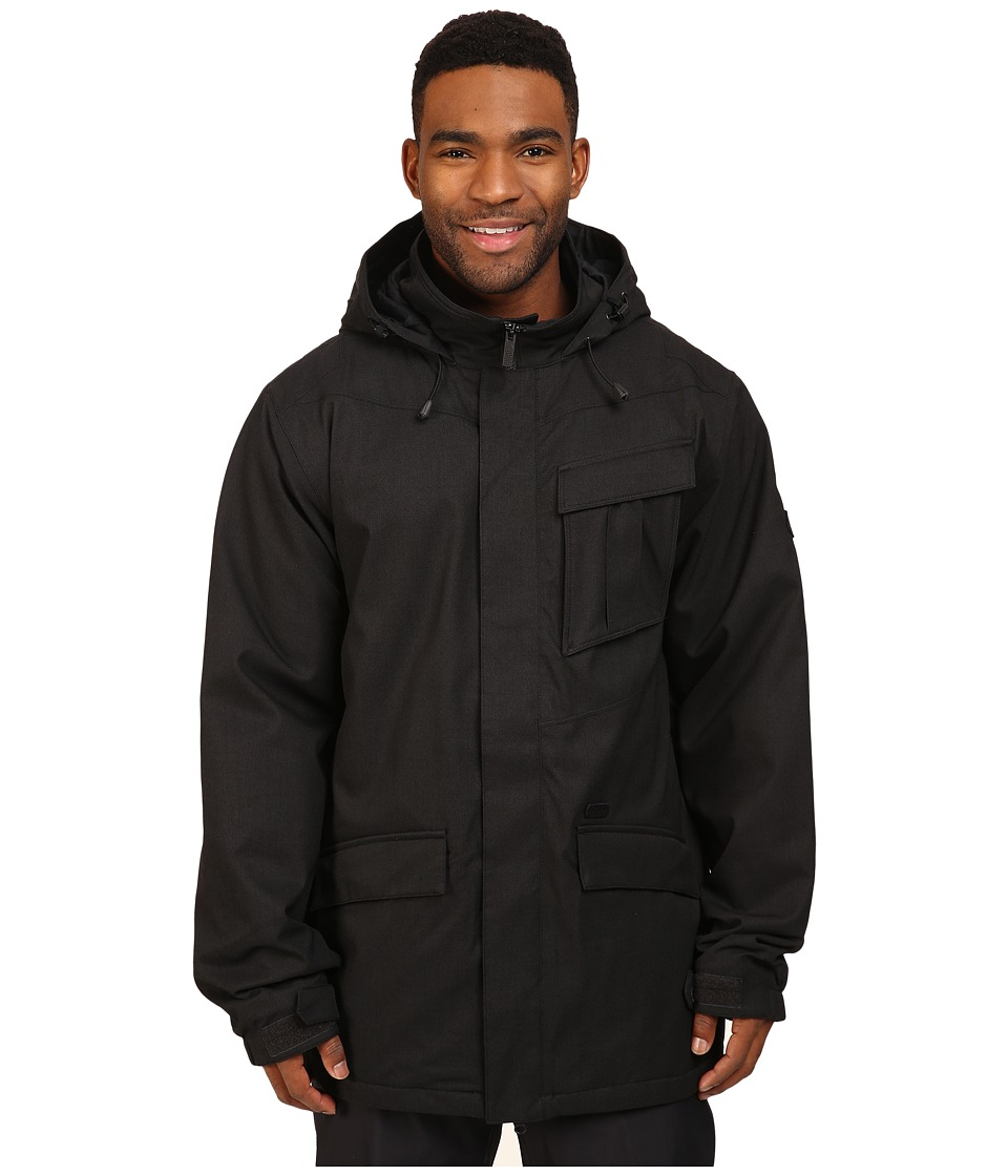 Volcom Snow - Mails Insulated Jacket (Black) Men's Coat
