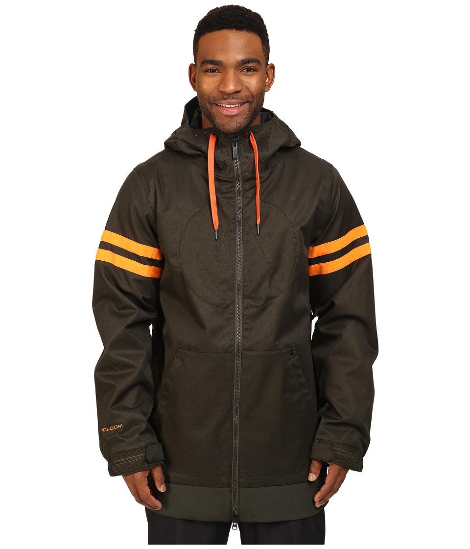 Volcom Snow - Hal Jacket (Vintage Green) Men's Coat